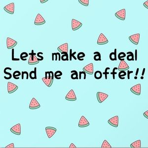Counter me on any item!! Let's make a deal !!